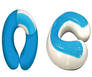 Gel Memory Foam Travel pillow A3008